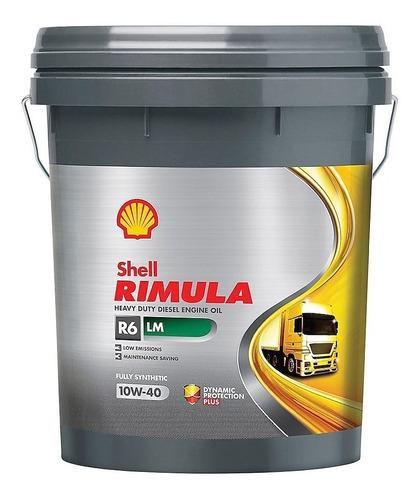 rimula r6 lm 10w40 x 20 lts -  nuevo  sellado de fabrica