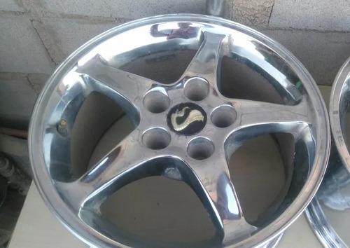 rin 16 ford mustang cobra el precio es por 1 no reparados
