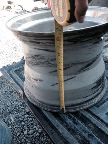 rin 16.5x12  aluminio modular  8 birlos c/u