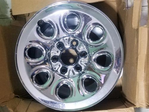 rin 17 cromado gm chevrolet silverado 2007 / 2010 detalle