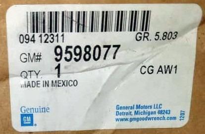 rin 17 original gm chevrolet silverado 2007 - 2010