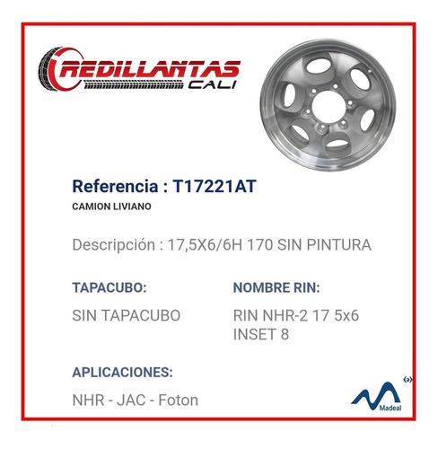 rin 17.5 de aluminio nhr