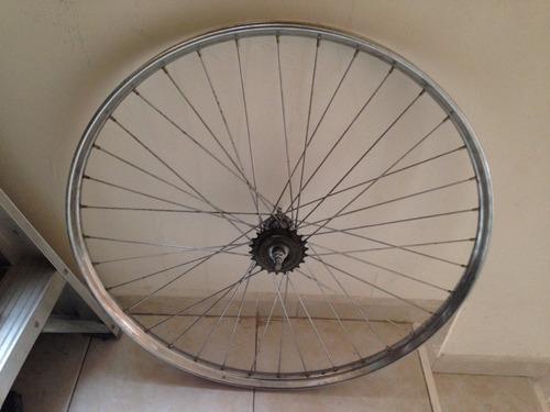 rin 28 para bicicleta inglesa panadero antigua rueda libre
