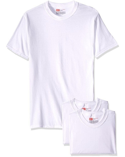 rinbros playera cuello redondo para niño p3-blanco