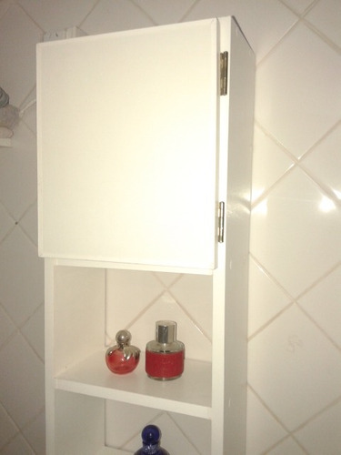 rinconero  mueble para baño de madera, organizador de baño