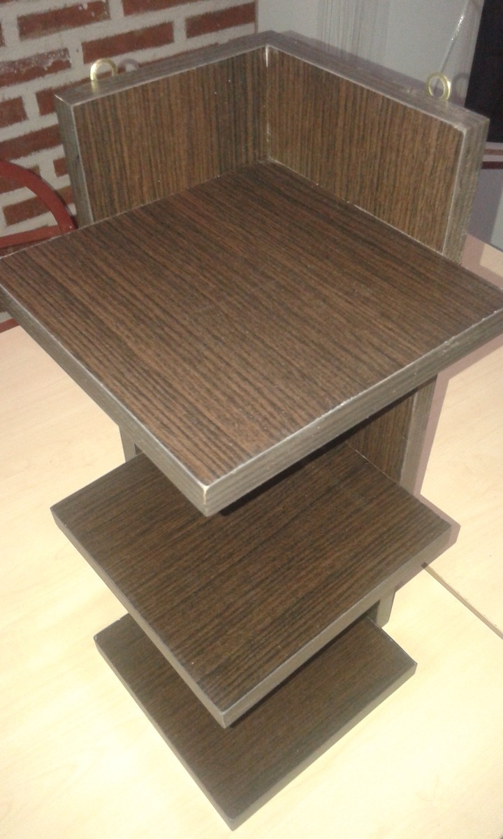 Rinconero Wengue Dekohogar Mueble Para Ba O De Madera 360 00  # Muebles Rinconera Bano