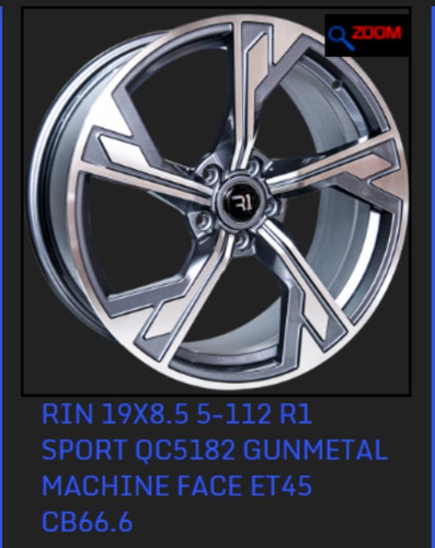 rines 19 5/112 jetta a6 12/19 beatle golf tipo audi (2 rines
