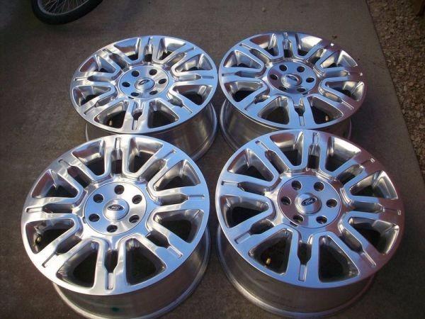Rines 99 De Estetica 20 Ford F150 Platinum 9l3z1007f 22 299 00 En Mercado Libre