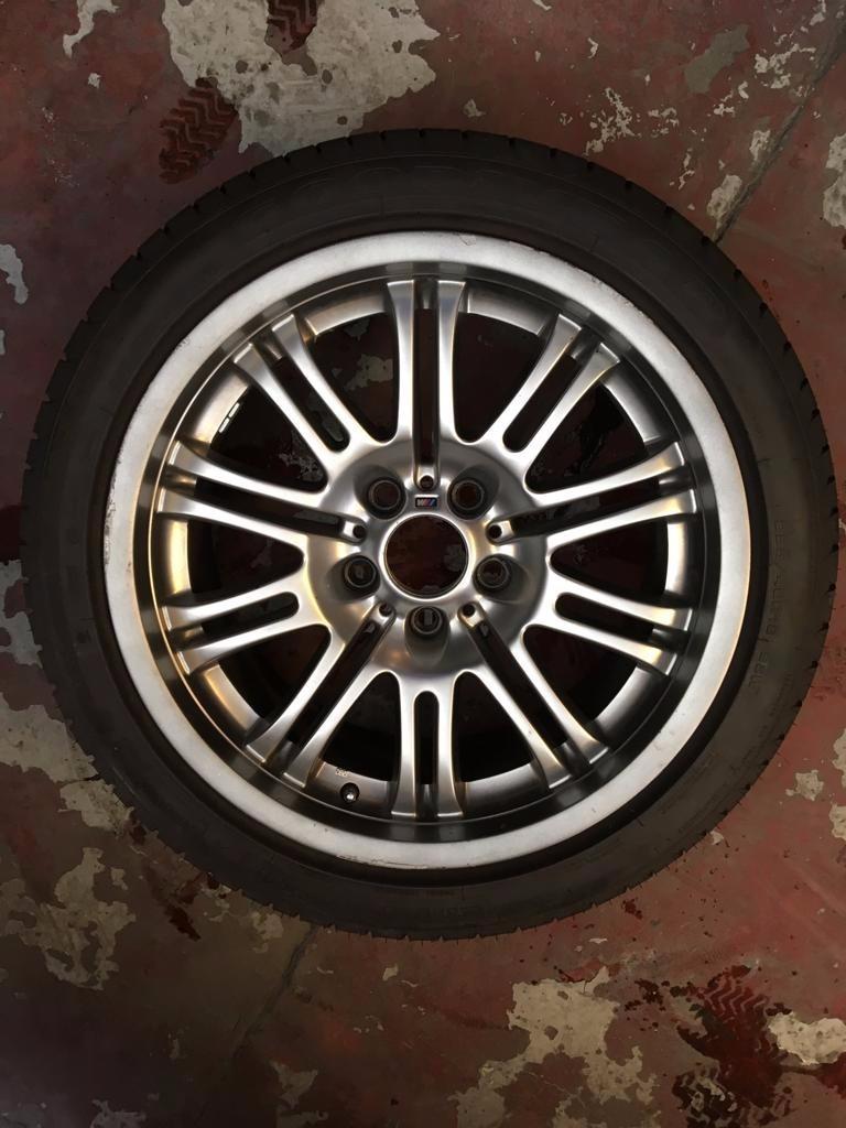 Rines Bmw M3 E46 Con Llantas Nuevas Runflat