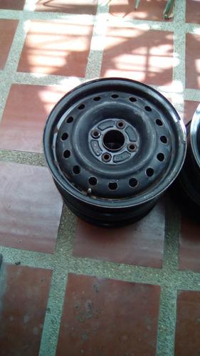rines de hierro rudeveca, 15x5. 5j, 4 huecos, manzana 115 mm