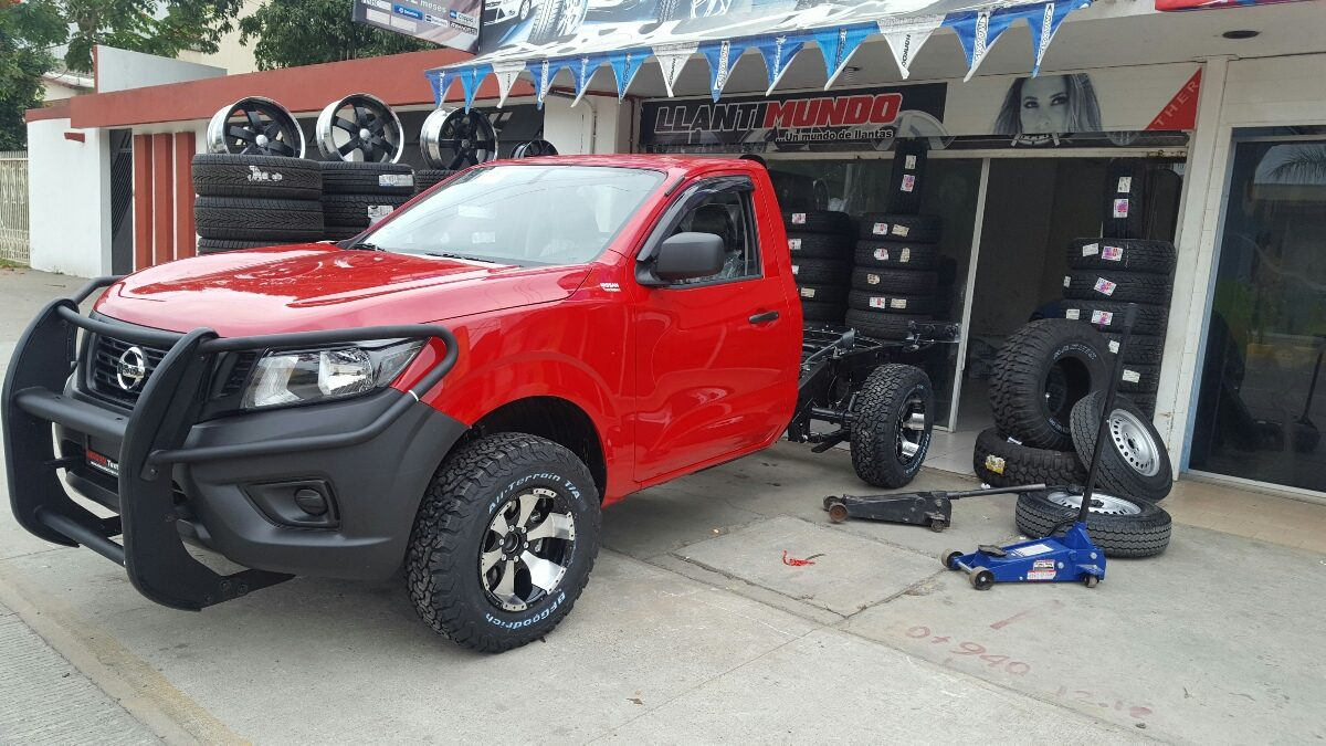 Rines Deportivos P Ara Nissan Pick Up Np300 2016 - 2017 ...