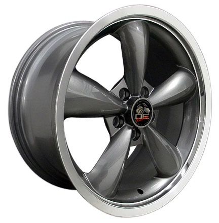 rines mustang tipo bullit 18x9