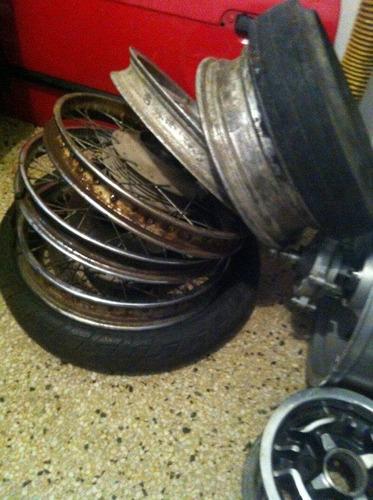 rines varios de moto de alta cilindrada (medidas 17 y 18)