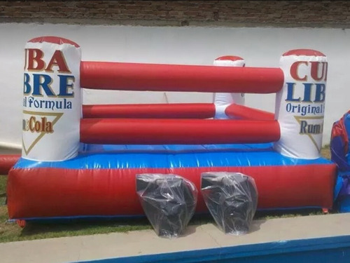 ring de boxeo inflable alquiler(castillo inflable)