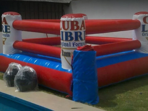 ring de boxeo inflable (castillo inflable) alquiler