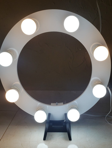 ring light 08 lampada 5w led 2em1 + tripé  + kit selfie