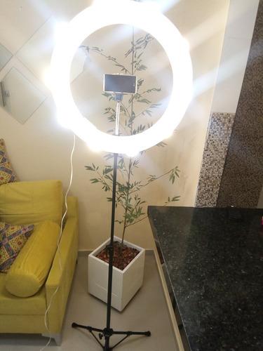 ring light, 10 promoção (acompanha lâmpadas9w) menor preço