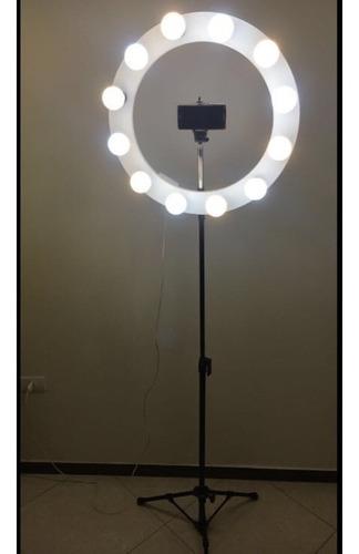 ring light 12 (acompanha as lâmpadas 9w) promoção