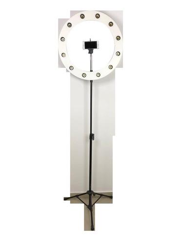 ring light 12 iluminação 55cm com tripé iluminador
