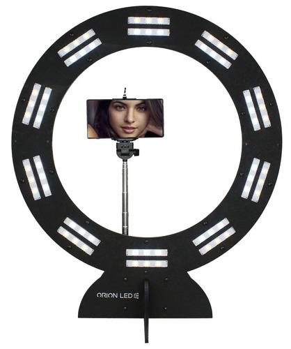 ring light 20 super led selfie maquiagem tripé 50x58cm