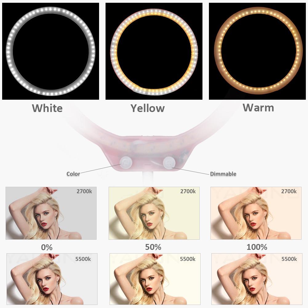 26cbdfcce ring light 27cm de escritorio maquillaje selfies youtube. Cargando zoom.