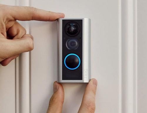ring peephole timbre inteligente camara video full hd 1080p