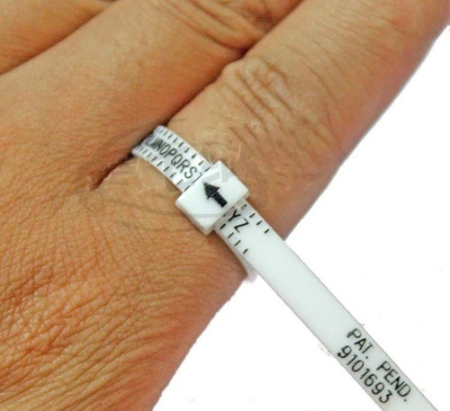 ring sizer - cinta medidora de anillos (dedo)