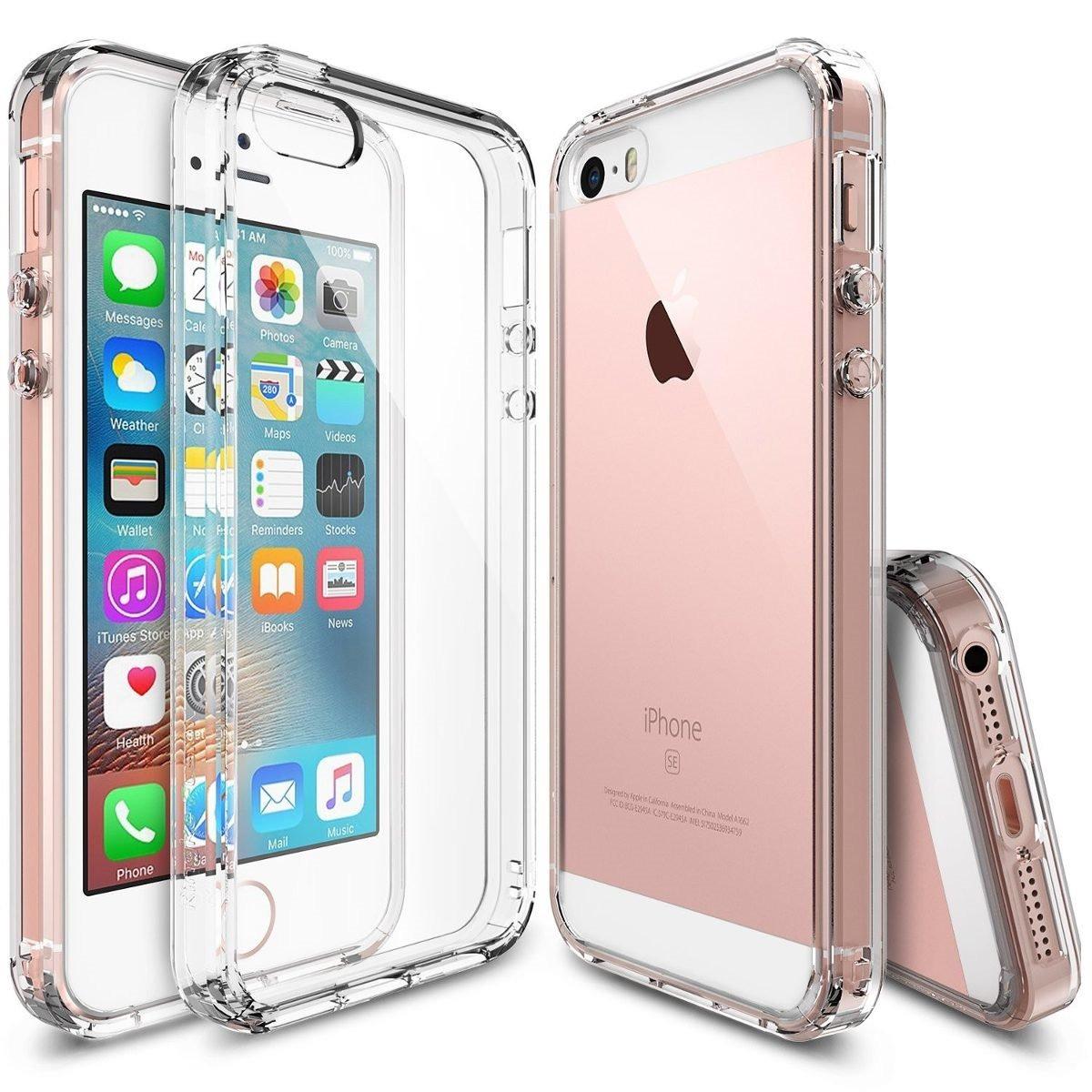 b7316527387 Ringke Fusion Fundas Para iPhone Se / 5 Y 5s Bumper + Mica ...
