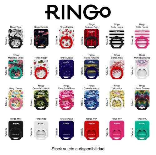 ringo anillo para celular soporte + clip para colgar