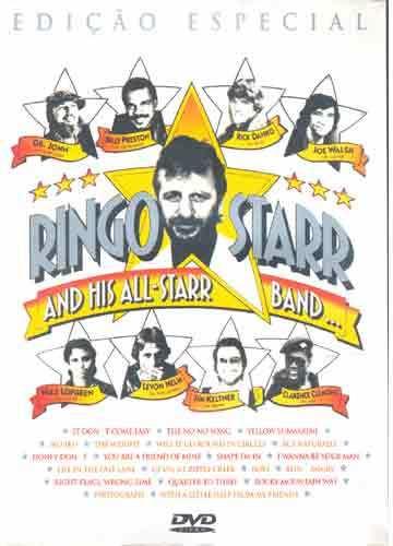 ringo starr and his all-starr band  dvd original imperdível!