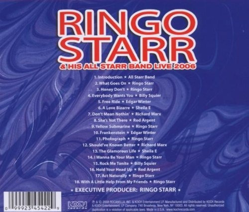 **ringo starr (beatles) **all star band 2006**