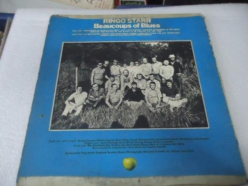 ringo starr / beaucoups of blues vinyl lp acetato