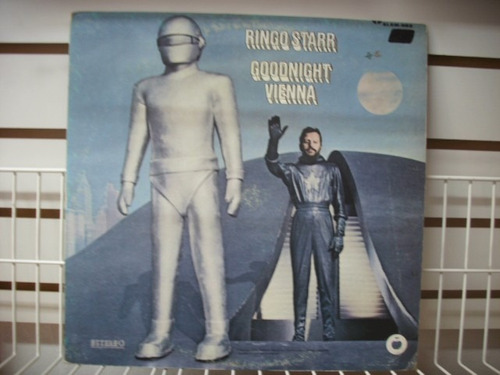 ringo starr - goodnight vienna lp nacional en mb estado