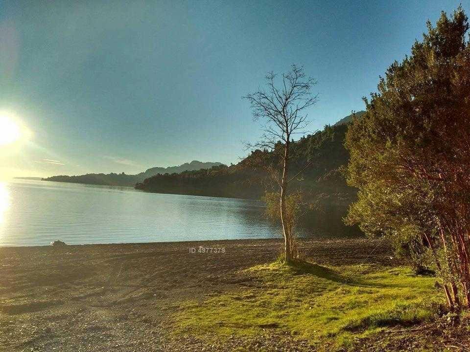 riñinahue, playa epulafquien, lago ranco