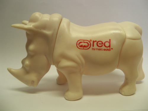 rinoceronte red by marc ecko promocional rinoceros