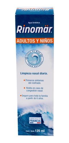 rinomar adulto agua de mar isotónica 125 ml