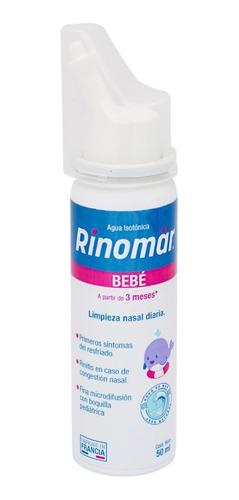 rinomar baby agua de mar isotónica para bebé 50 ml 4 pack