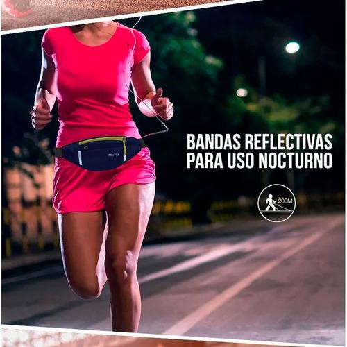 riñonera deportiva running unisex porta celular llaves