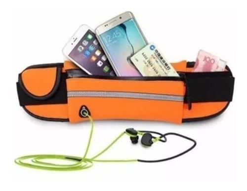 riñonera impermeable deportiva running celular once-boedo