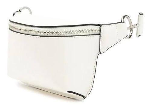estilo de moda comprar original diseño novedoso Riñonera Importada Forever 21 Blanca Eco Cuero De Usa