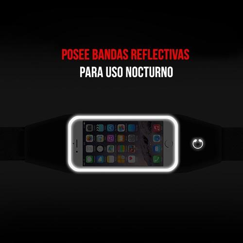 riñonera running expandible portavalores celular tarjetas