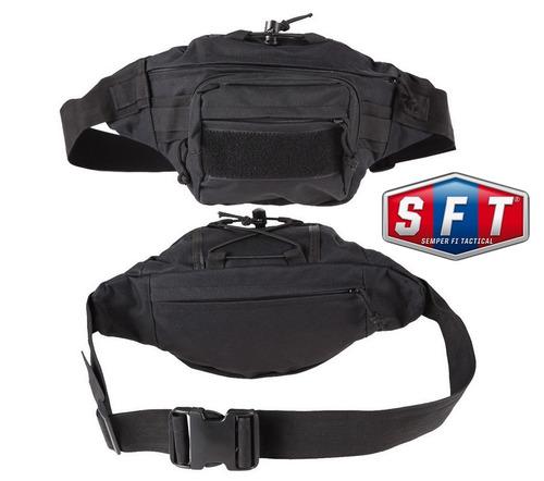 riñonera tactica - belt bag negra