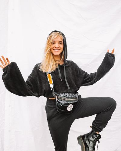 riñonera ushuaia pop negro legion extranjera