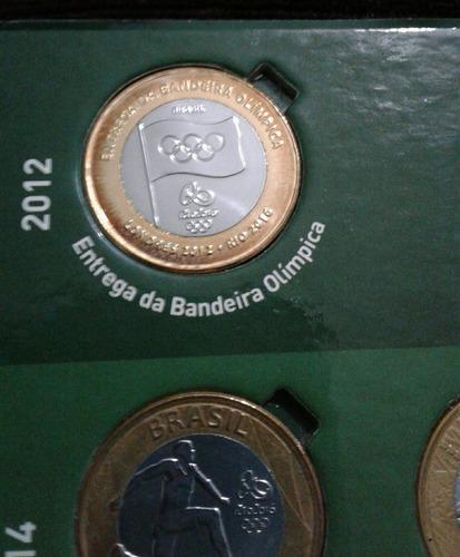 rio 2016 - coleção de moedas comemorativas das olimpiadas