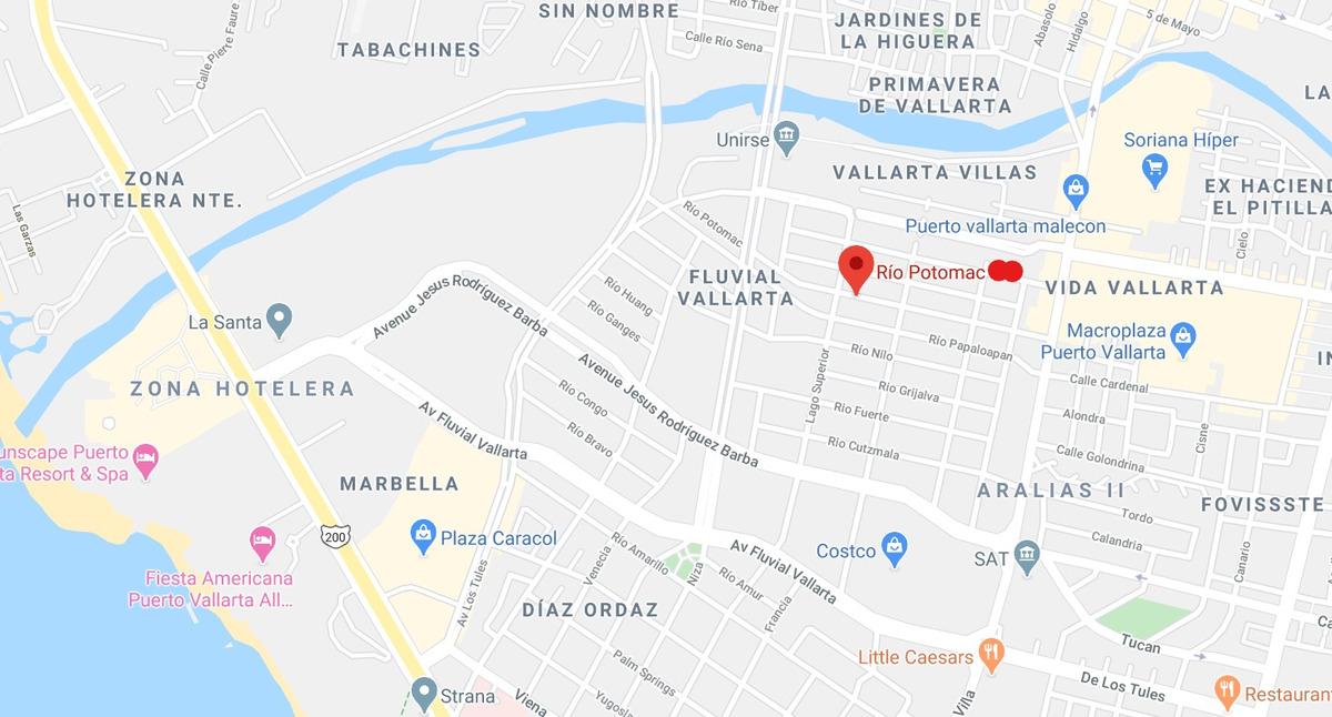 río potomac, residencial fluvial vallarta, puerto vallarta