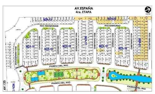 rio residencial. terrenos en venta by cumbres. 288 m2 cuarta etapa. atrás de aqua. cancún