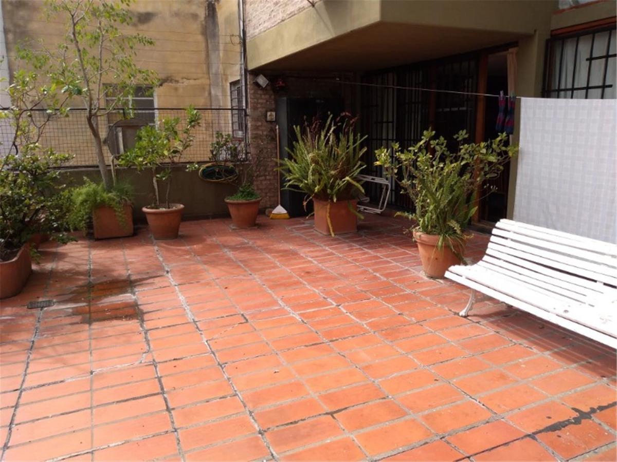 rioja 1770 - duplex - amplio patio - cochera