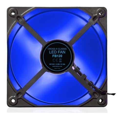 riotoro ventilador cross-x classic 12cm azul