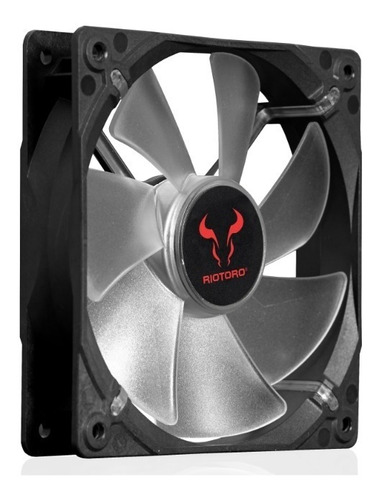 riotoro ventilador cross-x classic 12cm rojo