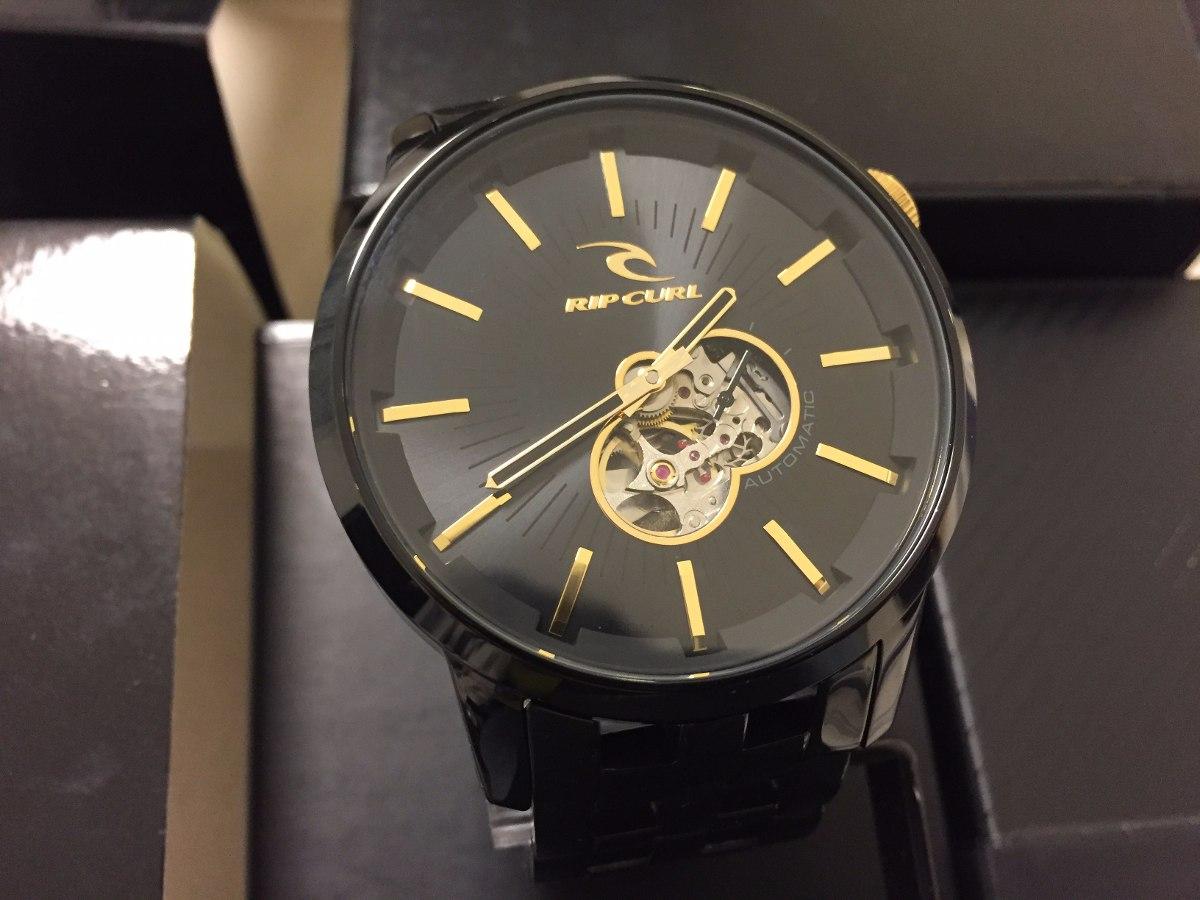 52910352b83 ... detroit automático   novo na caixa a2507 · relógio rip curl · rip curl  relógio. Carregando zoom.